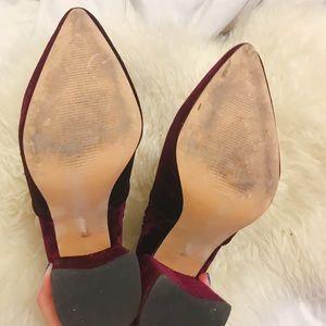 Steve Madden Shoes - Steve Madden Velvet Boots 7.5